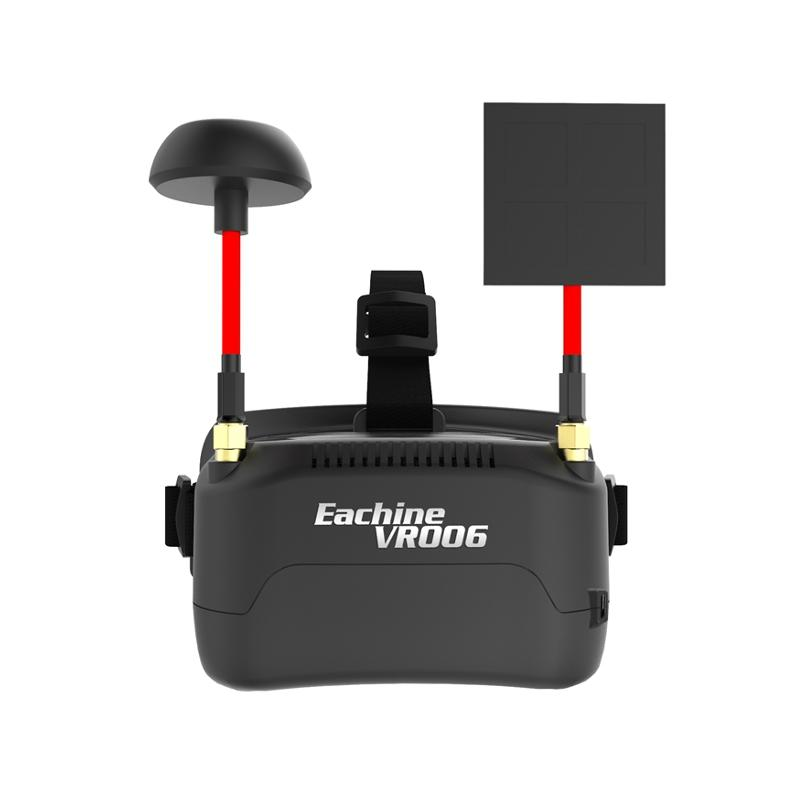 Eachine VR006 VR-006 3 Inch 500 * 300 Display 5.8G 40CH Mini FPV Occhiali da vista Costruisci in 3.7V 500mAh Batteria