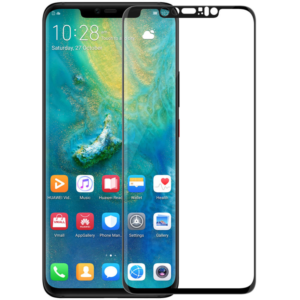 buy popular 05ed4 42edf NILLKIN 3D Curved Anti-explosion Full Cover Tempered Glass Screen Protector  for Huawei Mate 20 Pro