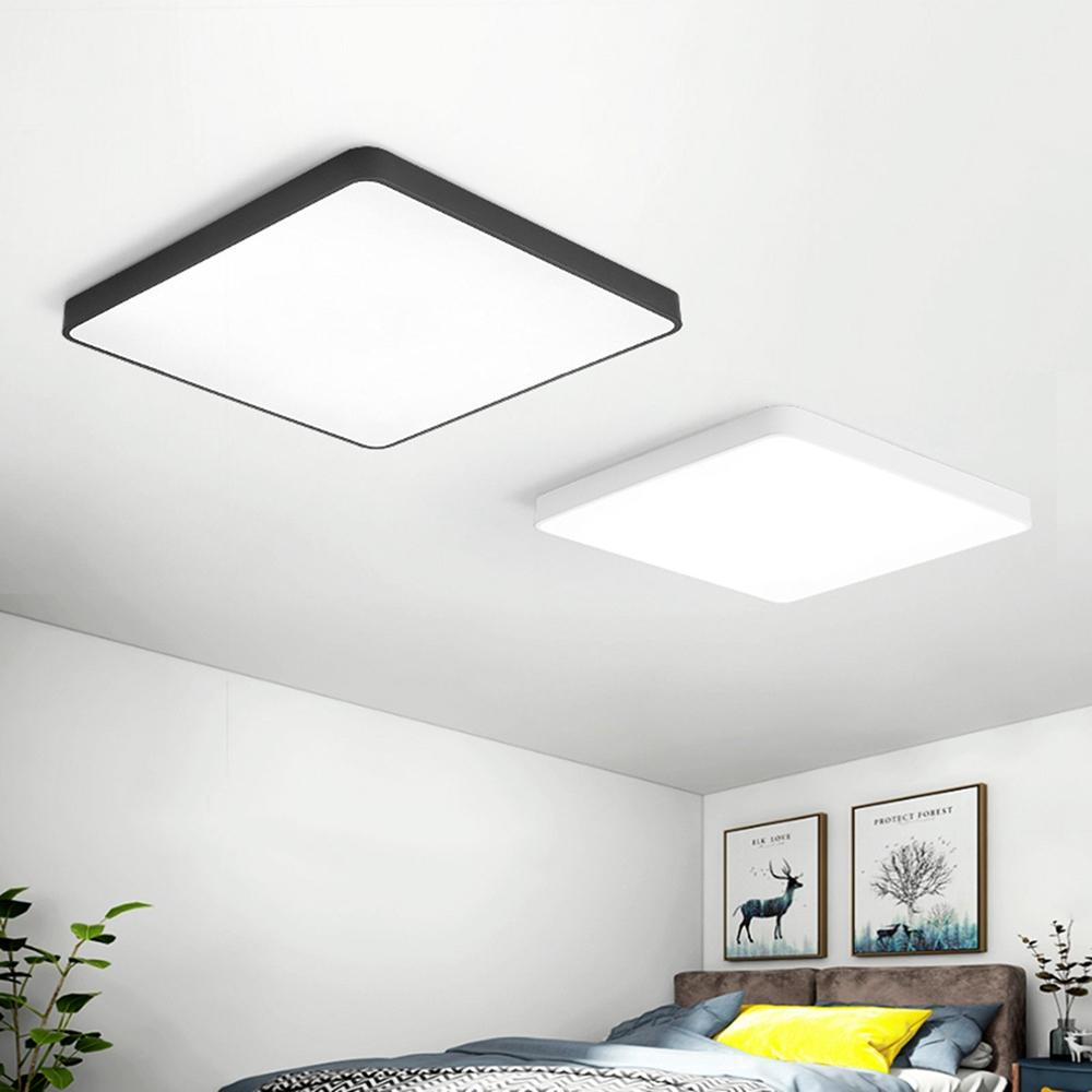 24w Square Led Ceiling Down White Light Panel Wall Bathroom Lamp Fixture 40 40cm