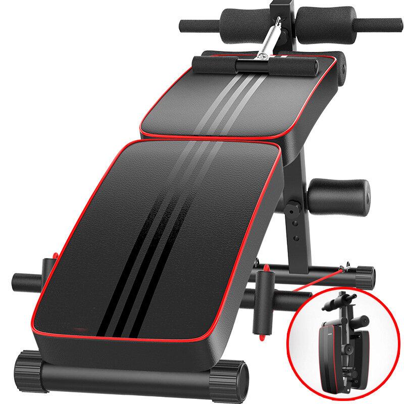 Bominfit WB4 Многофункциональная скамья для сидения, складной тренажер для брюшного пресса, 10 передач, регулируемая дос