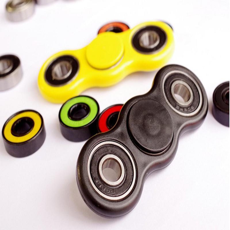 Roterande Spinner Fidget Plast Leksaker EDC Hand Spinner För Autism och ADHD Stress Release Gift