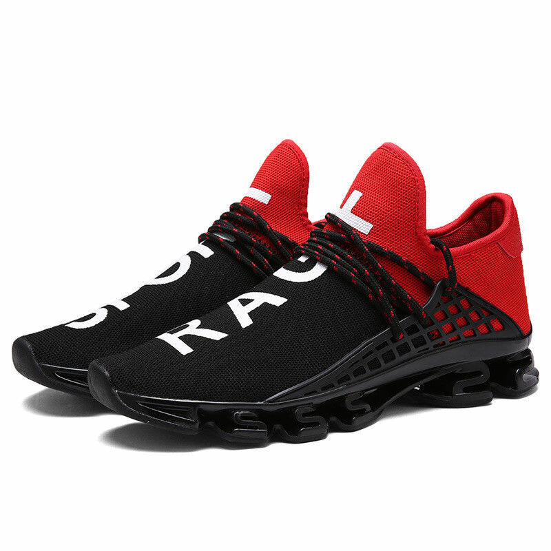 8b5e34e45987 Blade Runner Male Breathable Flying Weave Running Shoes Shock Absorber  Sneakers Size 38-44 COD