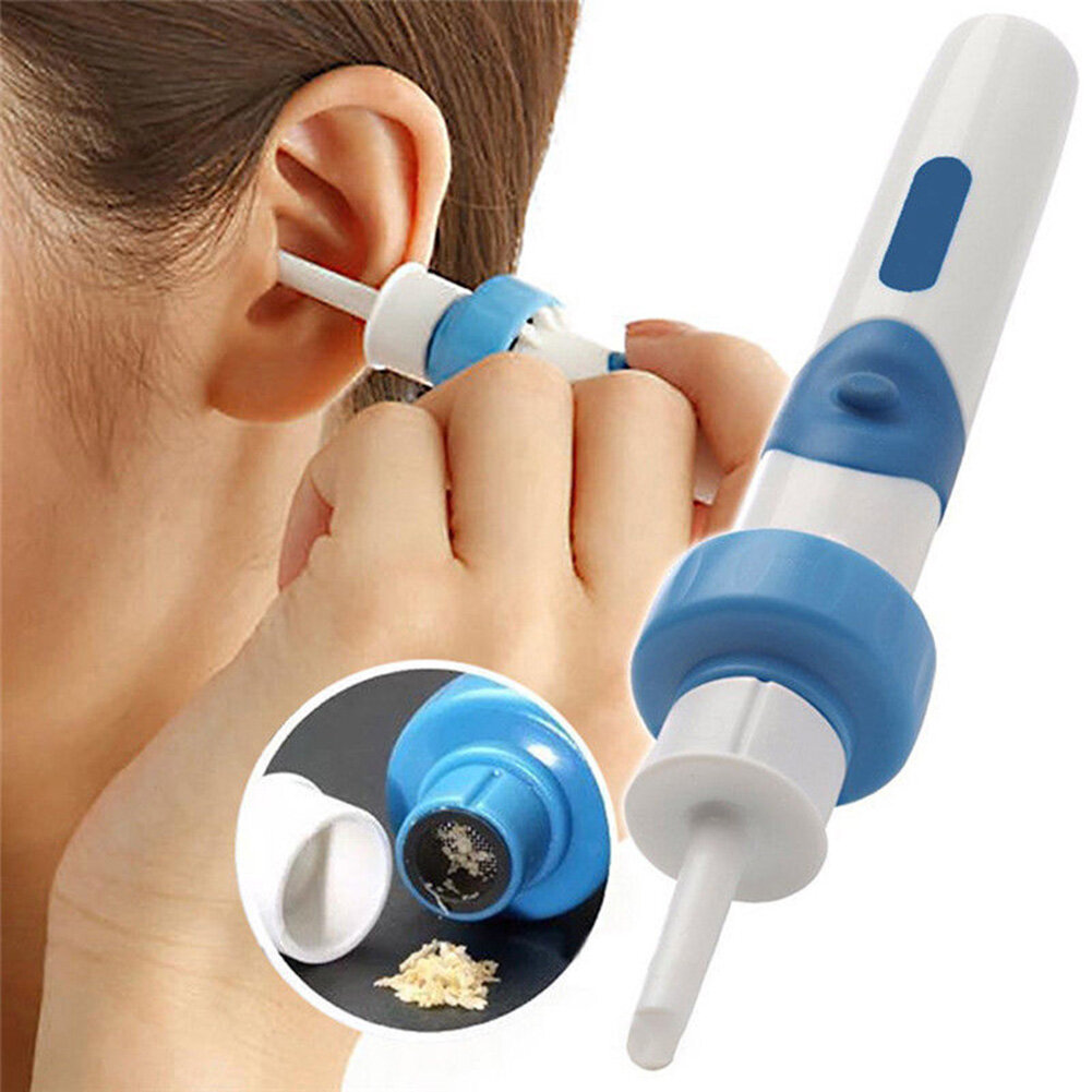 Electric Vacuum Ear Cleaner Ear Wax Safe Remover Vibration Removal Cleaning Painless Cordless Safety Earpick for Kids