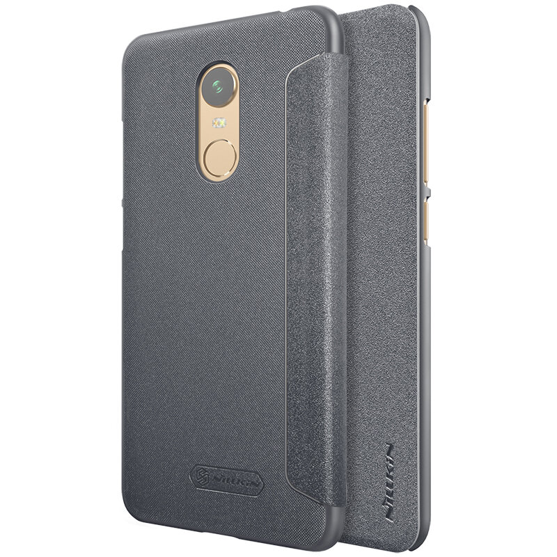 official photos 00f60 a9092 NILLKIN Sparkle Flip Smart Sleep PU Leather Protective Case With Magnetic  For Xiaomi Redmi 5 Plus
