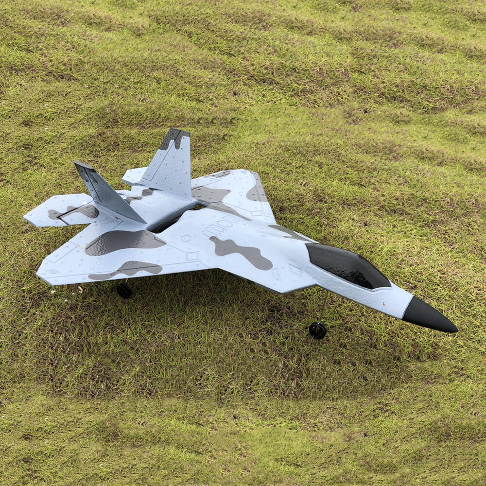 XK A180 F22 Raptor 2.4G 3CH 320mm Wingspan 3D/6G Mode Switchable 3-Axis/6-Axis Gyro Aerobatics EPP RC Airplane RTF
