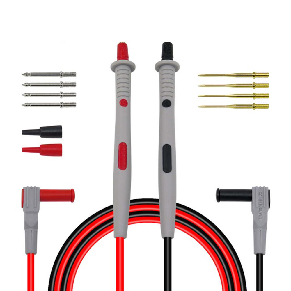 Cleqee P1503 Multimeter Probes Replaceable Needles Test Leads Kits Probes for Digital Multimeter Feelers for Multimeter фото
