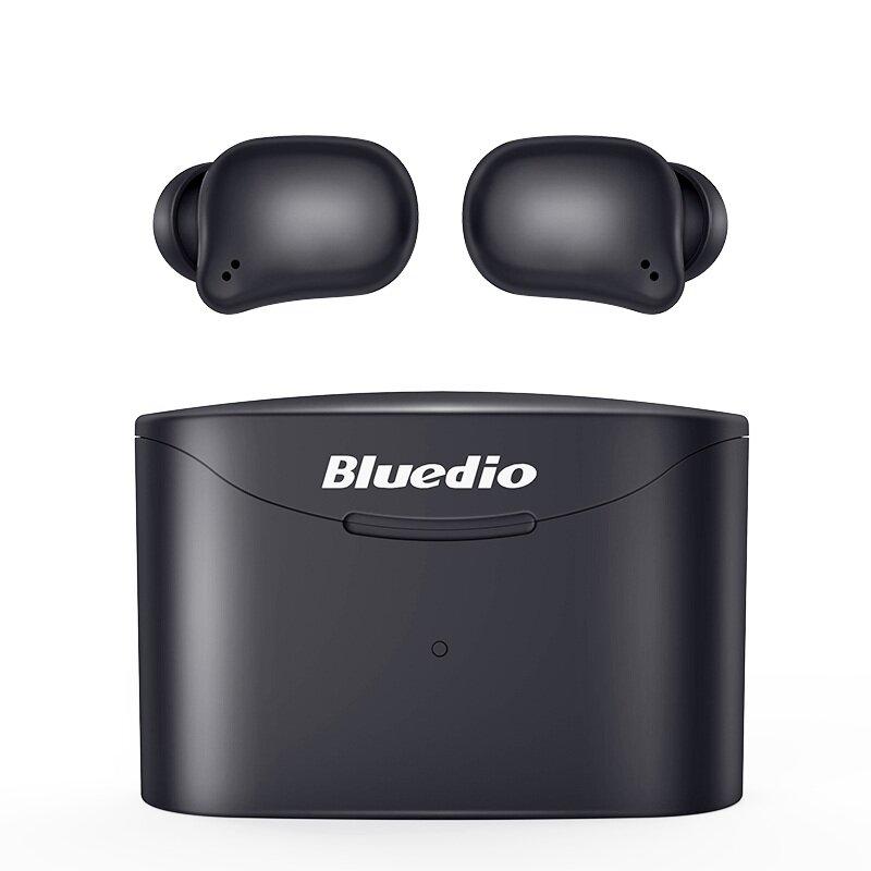 Bluedio T-elf 2 TWS Earphone Wireless bluetooth Headphone Touch Control Mini Stereo Headset for iPhone Xiaomi Huawei - Black