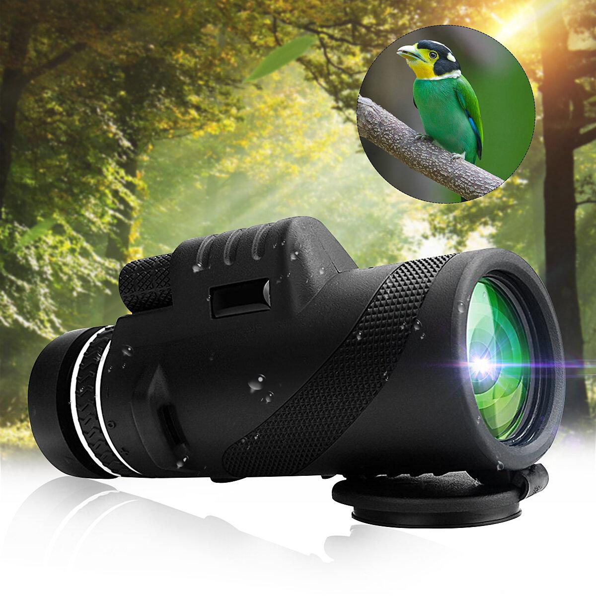 40x60 Monocular Outdoor campeggio Telescopio HD Zoom Escursionismo Night Vision