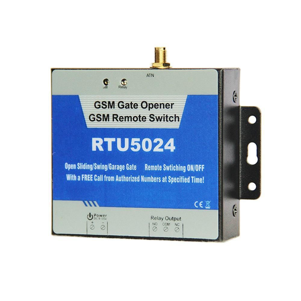 RTU5024 GSM Gate Opener Relay Switch Remote Access Control Wireless Door  Opener