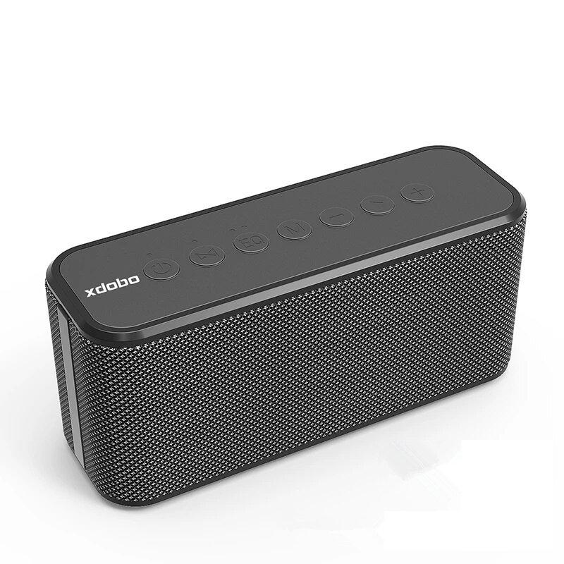 XDOBO X8 Plus 80W bluetooth Speaker Wireless Portable Speaker 2.1 Channel 10400mAh DSP Bass Stereo IPX5 Waterproof Outdoor Speakers with Mic