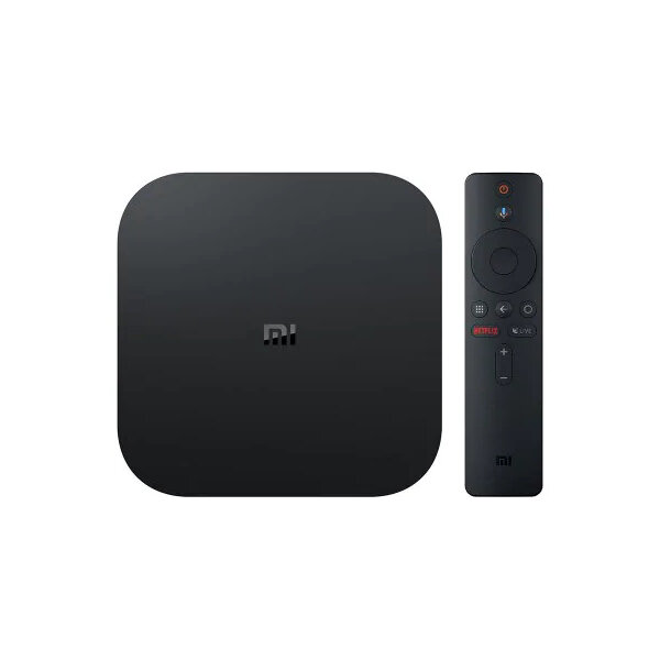 Xiaomi Mibox S 2GB DDR3 RAM 8GB ROM Android 8.1 5G WIFI bluetooth 4.2 H.265 TV Box Streaming Media Player Google Assistant Voice Control Support HD Netflix 5.1 Surround Sound Output Global Version - EU