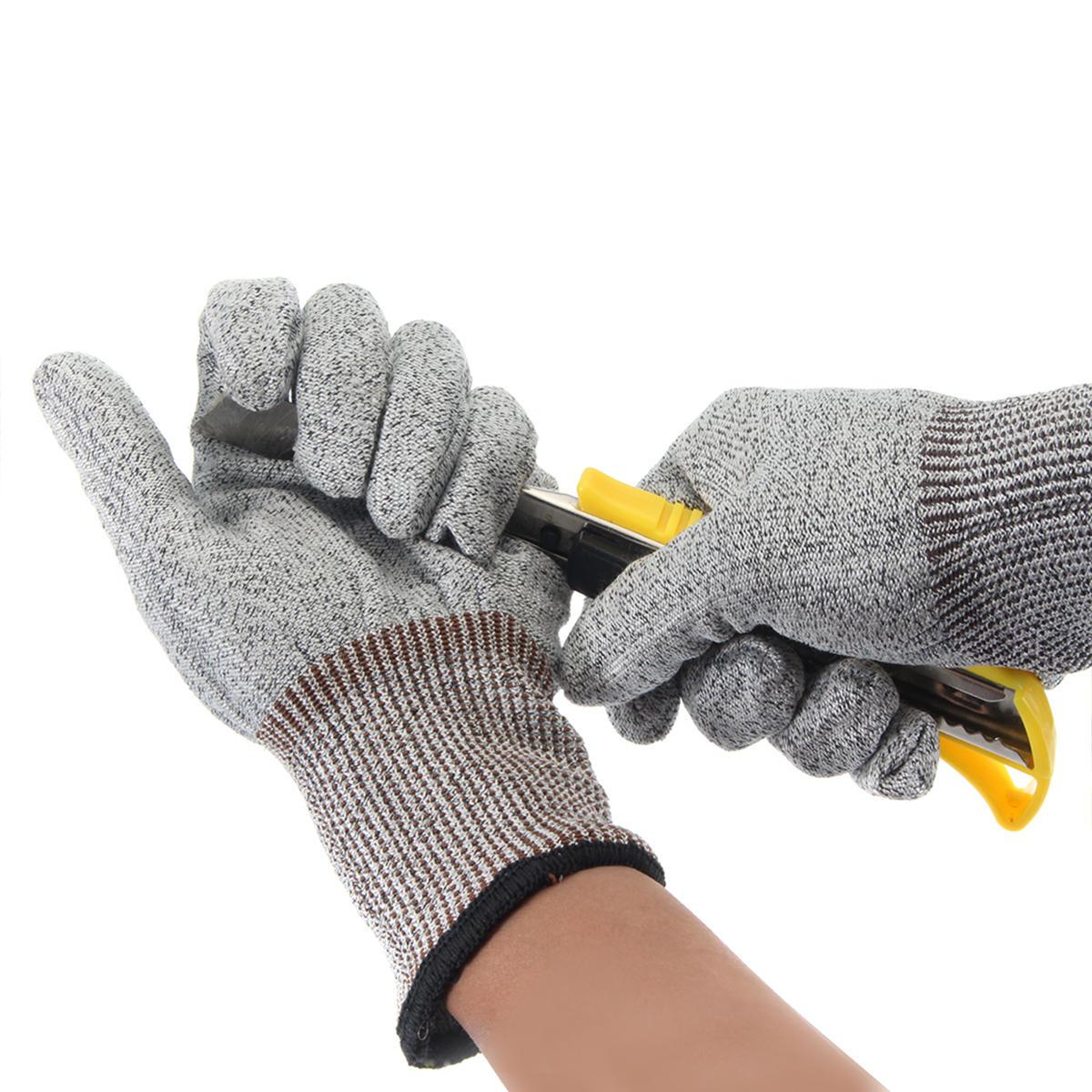 सुरक्षा कट सबूत स्टैब प्रतिरोधी स्टेनलेस स्टील धातु मेष काम कसाई दस्ताने