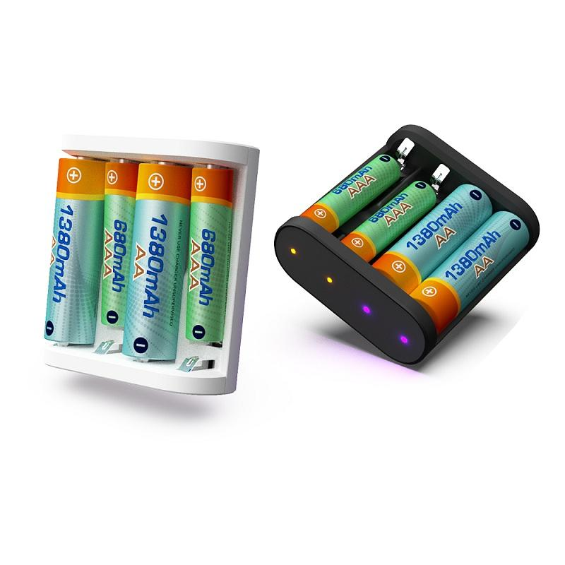 ISDT A4 10W 1.5A DC Smart Battery Charger for 10500 12500 AA AAA Battery