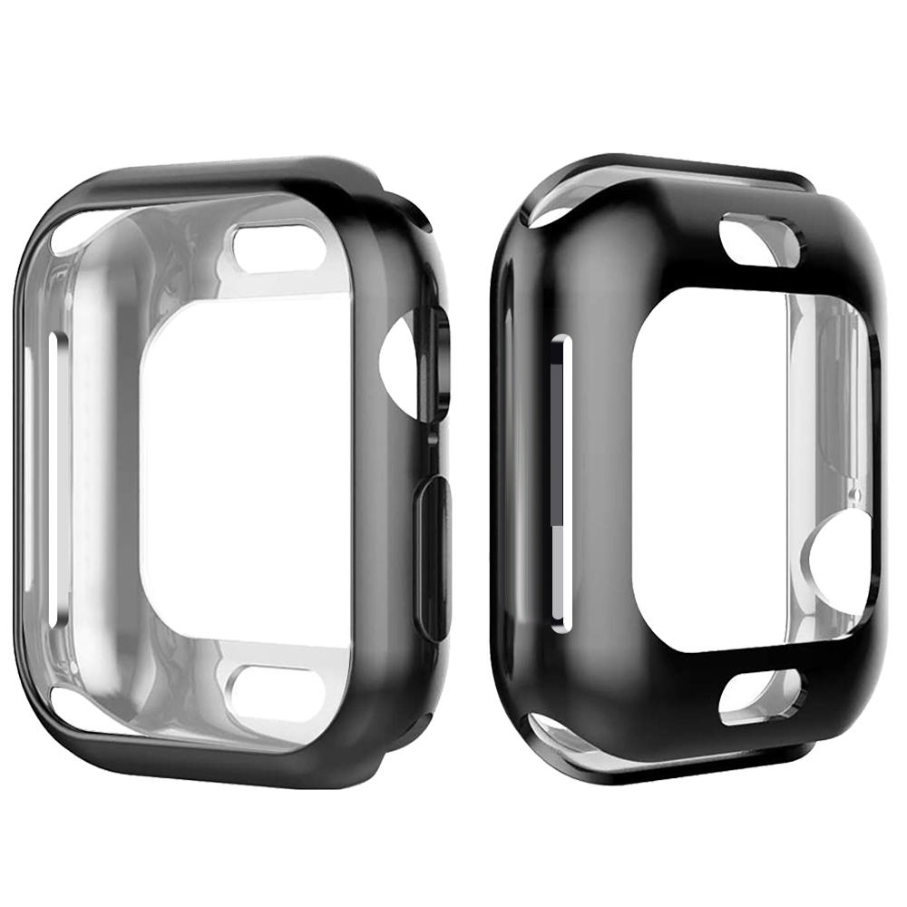 detailed look cbd2f c4210 Bakeey Plating Soft TPU Watch Cover For Apple Watch Series 4 40mm/44mm