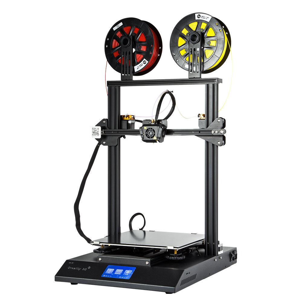 Creality 3D® CR-X DIY 3D Yazıcı Kit 300 * 300 * 400mm Çift Renkli Baskı / Entegre Tasarım / 4.3-inç Dokunmatik Ekran / Çift Soğutma Hayranları ile Baskı Boyutu