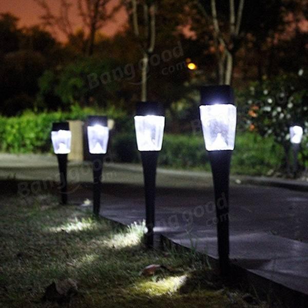 Solar Ed Plastic Outdoor Garden