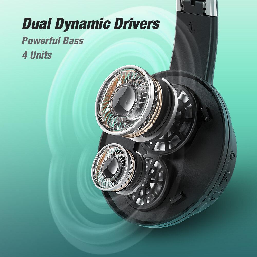 Dual Dynamic Drivers BlitzWolf® AirAux AA-ER3 bluetooth V5.0 Headphone