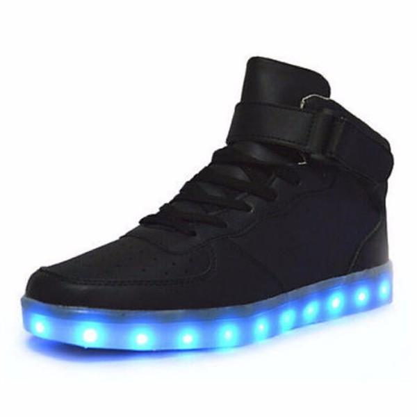 SG-UK LED Light-Up Flashing Party Pair of Shoe Heels Dancing 8 Colours