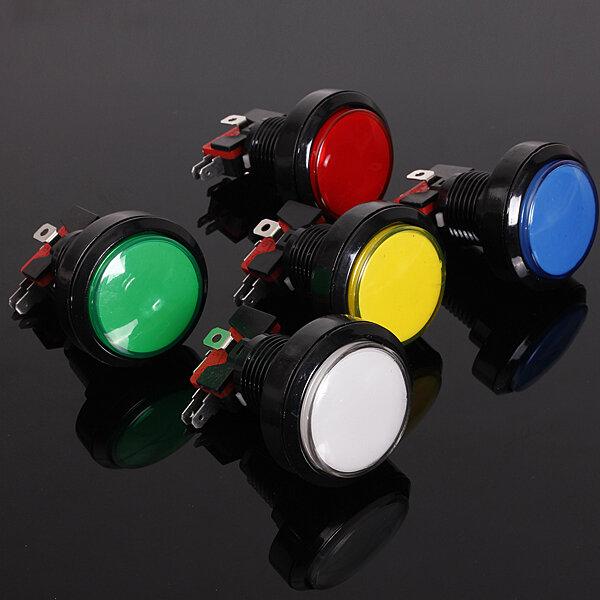 45mmアーケードビデオゲーム大きなラウンドプッシュボタンLED照明ランプ