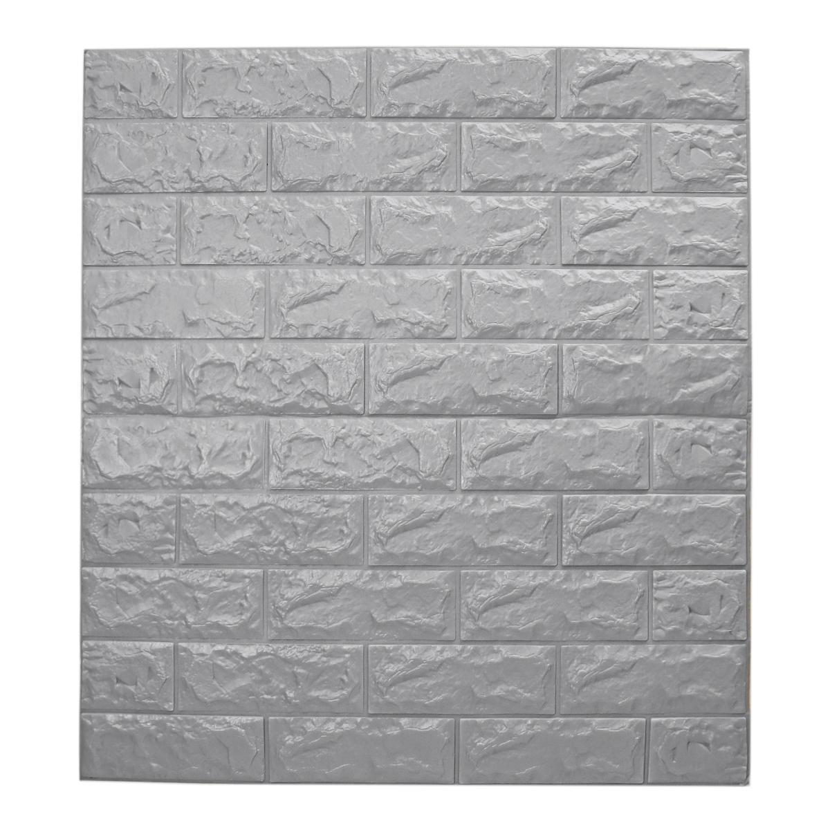 Brick Wall Sticker Tile Self-adhesive Waterproof XPE Foam Panel Home Decor UK