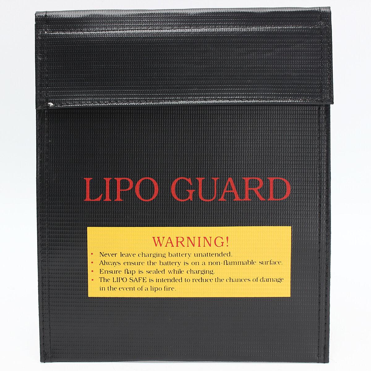 7 inch x 9 inch RC LiPo Bảo vệ pin Sạc Bảo vệ chống cháy nổ Túi an toàn chống cháy