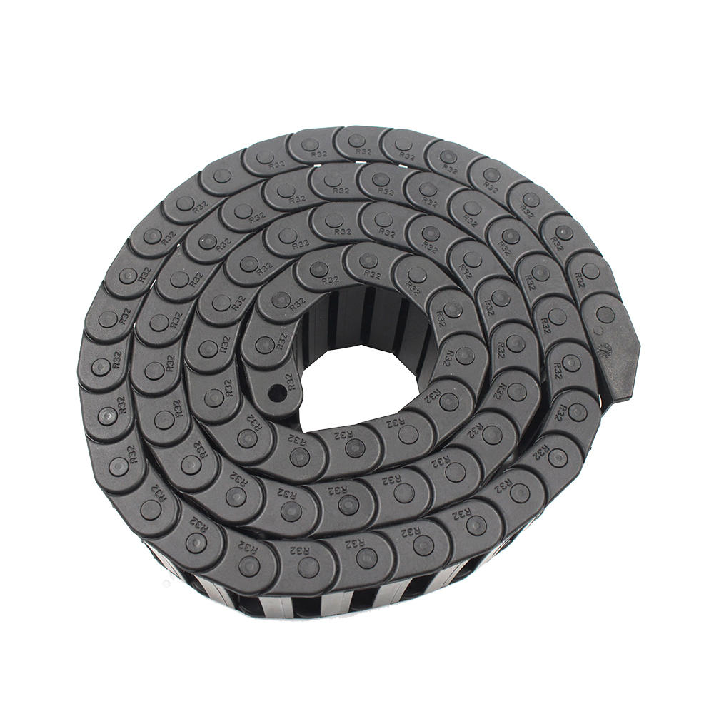 10*40mm L1000mm Opening Nylon Plastic Drag Chain With End Connectors for 3D Printer CNC Part