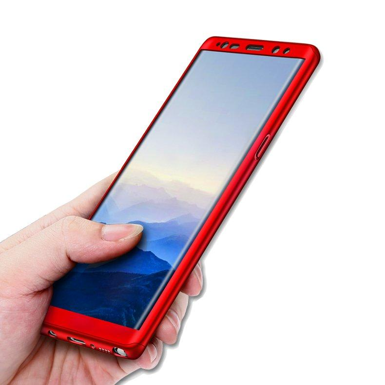 Bakeey 360° Full Body Hard PC Front+Back Cover Case+Soft Screen Protector For Samsung Galaxy Note 8