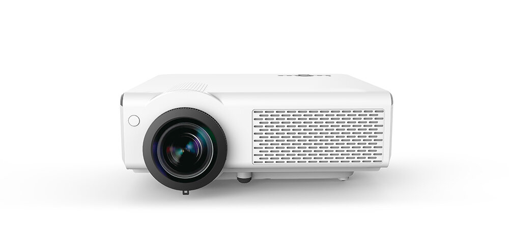 D33 LCD Projector Native 1080P Full HD 350 ANSI Lumens LED Android 6.0.1 10000:1 180-Inch WIFI Bluetooth Movie Home Thea