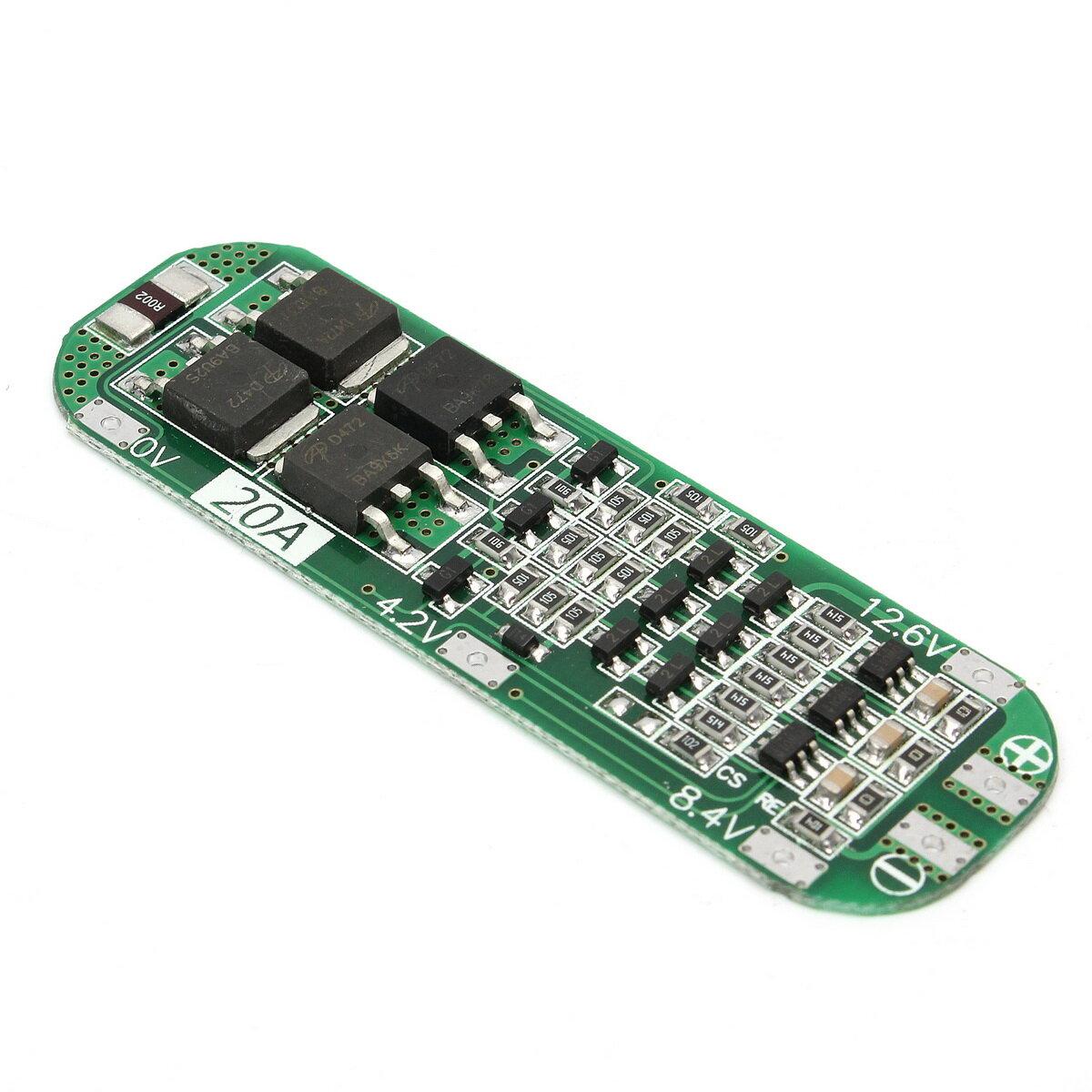 3S 20A Li-ionリチウム電池18650充電器PCB BMS保護ボード12.6Vセル