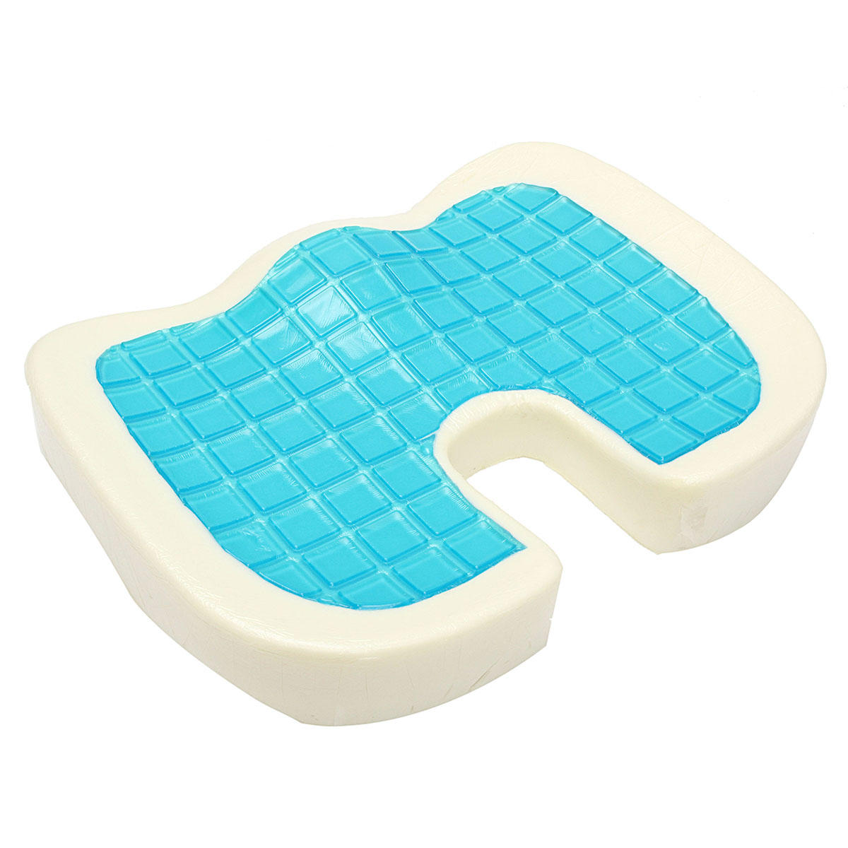 Cooling Memory Foam  Orthopedic Seat Back Support Cushion Pain Relief Buttocks Shaping Pillow