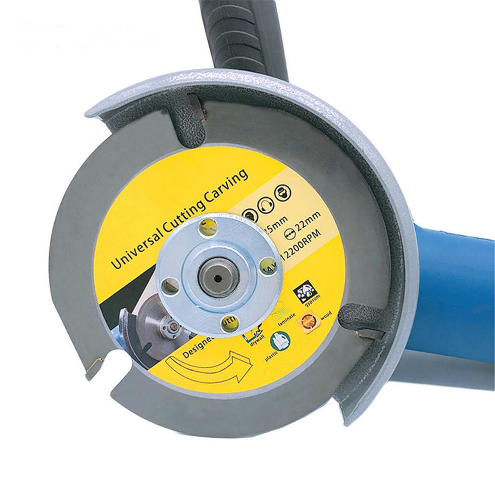 Hoja de sierra circular Disco de sierra Amoladora multiherramienta Disco de corte de madera con punta de carburo para corte de madera