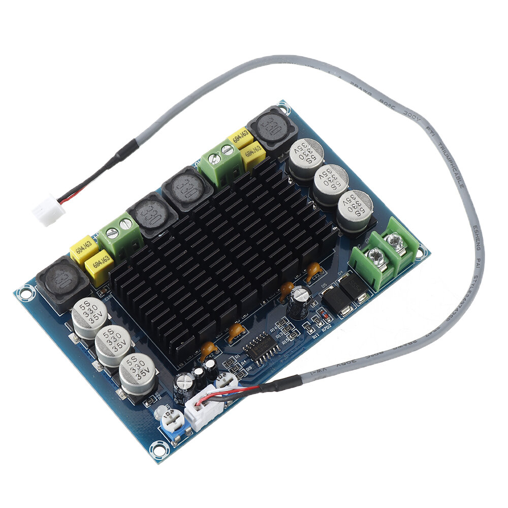 XH-M569 TPA3116D2 High Power 150W*2 Digital Power Amplifier Board Dual Chip with Pre-amplification