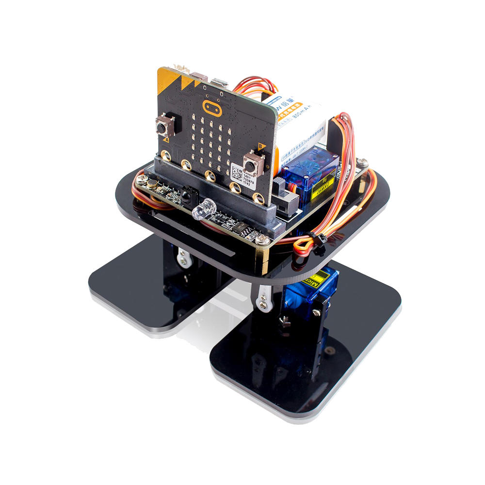 Arduino scm & diy SunFounder Sloth: bit Humanoid Robotics APP Programming Robot Learning Kit with Micro:bit Development Board Support Obst фото