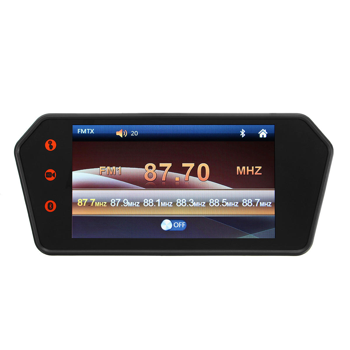 7 Inch LCD bluetooth Monitor Touch Screen MP5 HD Reversing Camera Car Rear View Parking, Banggood  - buy with discount