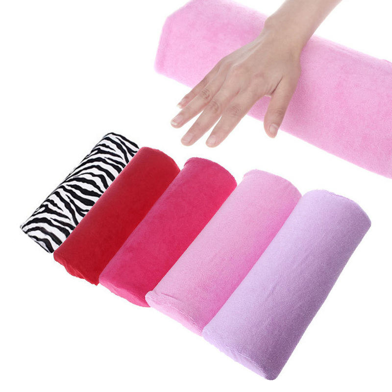 Soft Cotton Nail Pillow Cushion Hand Holder Pillows Detachable Armrest Manicure Tools Nail Art