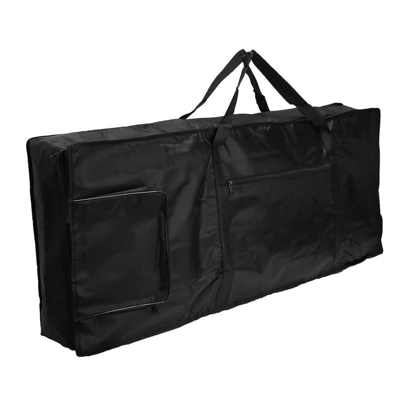 Portable Thick Padded Electric Keyboard Piano Bag 61 Key Double Shoulder Straps, Banggood  - buy with discount