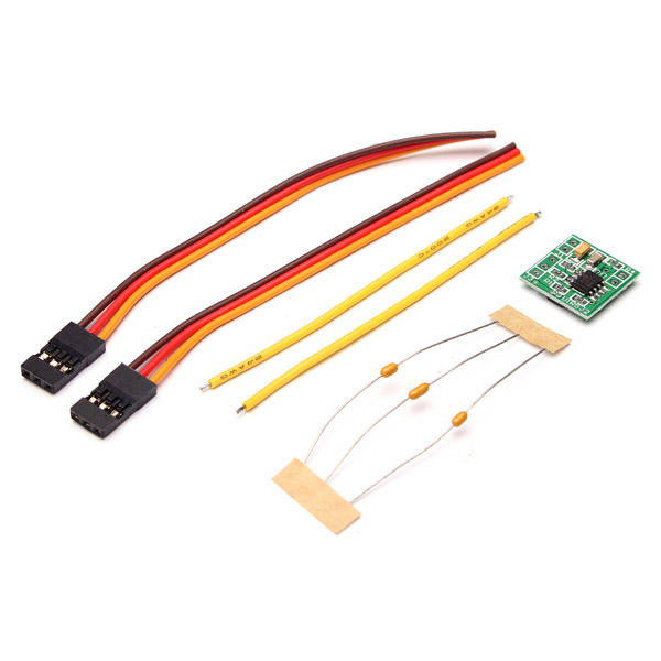 RC DasMikro 1S5A Micro ESC Bi-Directional Speed Controller For Car And Boat Without Brake фото