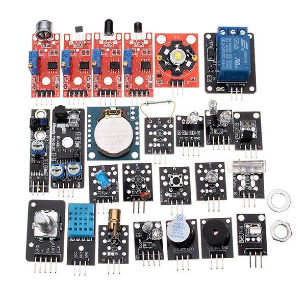 Arduino scm & diy 24 In 1 Sensor Module Board Starter Kits Plastic Bag Package фото