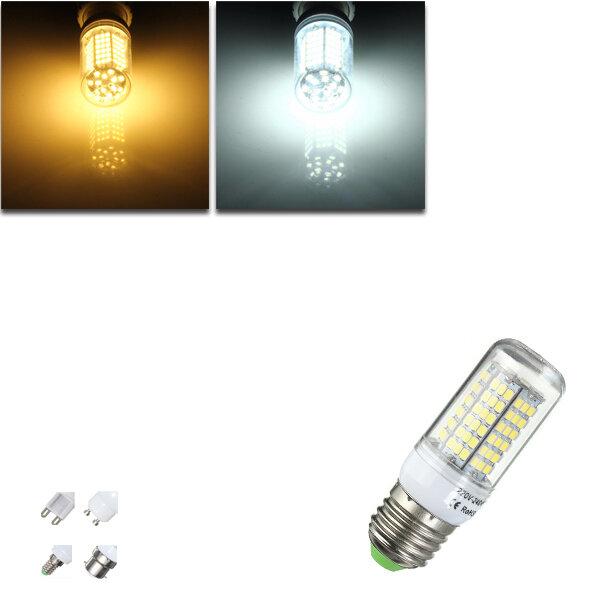 E27 / e14 / G9 / gu10 / b22 7W SMD 2835 LED lâmpada de milho quente 220v branco lâmpada / home