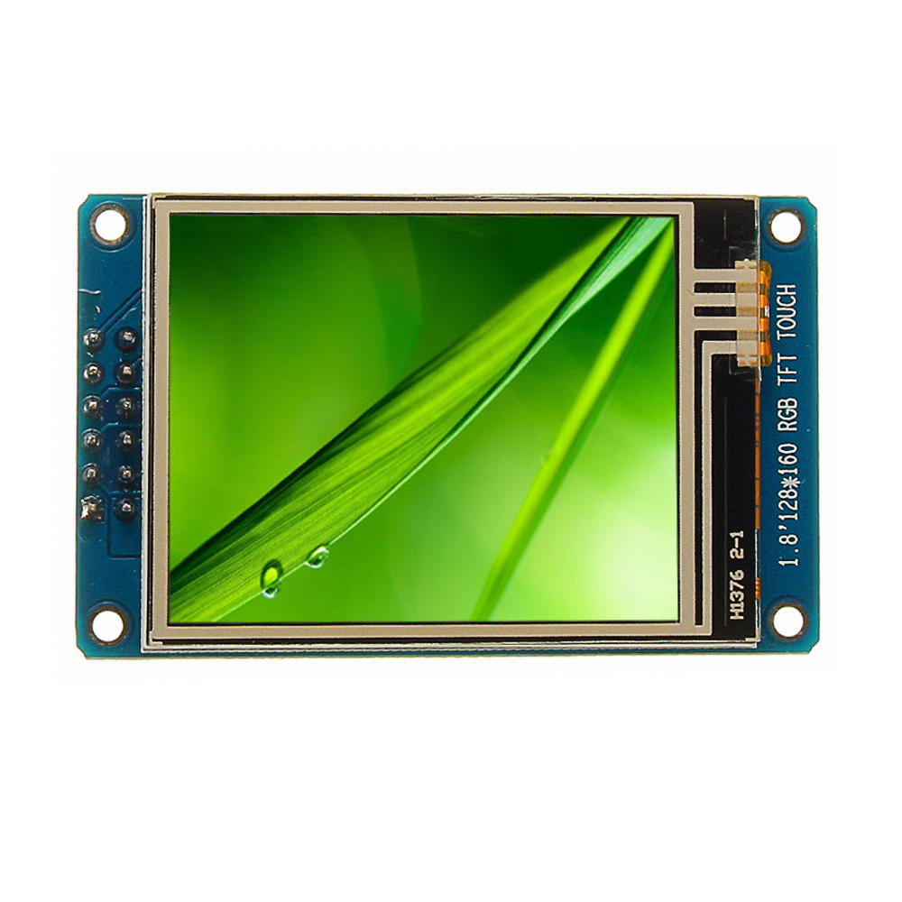 1 8 Inch LCD Screen SPI Serial Port Module TFT Color Display Touch Screen  ST7735 For Arduino