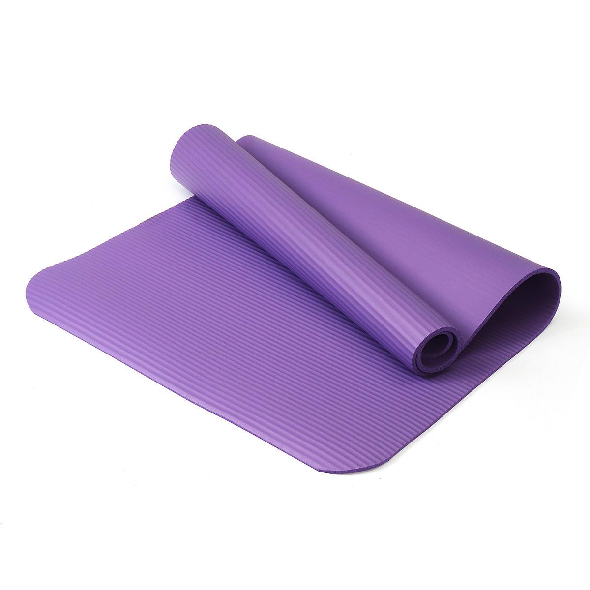 KALOAD 1200x610x10mm Yoga Mats Outdoor Indoor Fitness Mat Yoga Pad