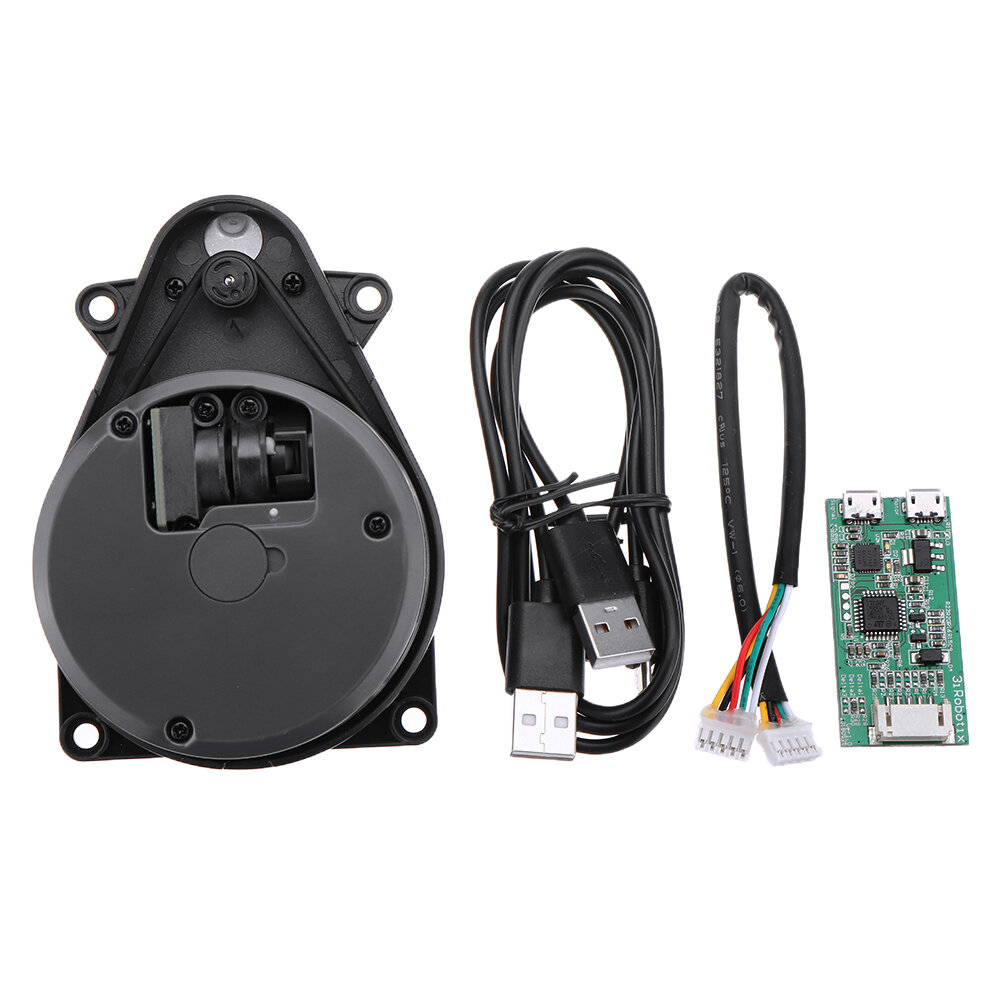 Für Robot 2D Lidar 360° Laser Radar Sensor Distance Measure Detection Module