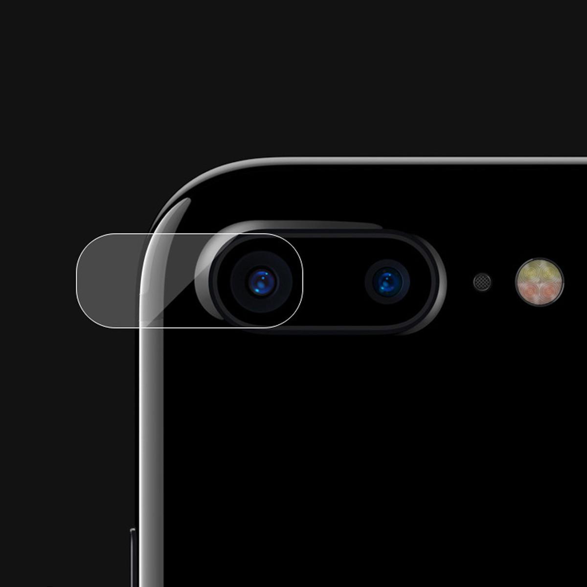 Herdet glass tilbake bak kameralinsen Deksel filmbeskytter for Apple iPhone 7/7 Plus