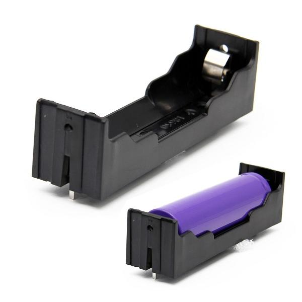DIY 1-Slot 18650 Battery Holder With Pins
