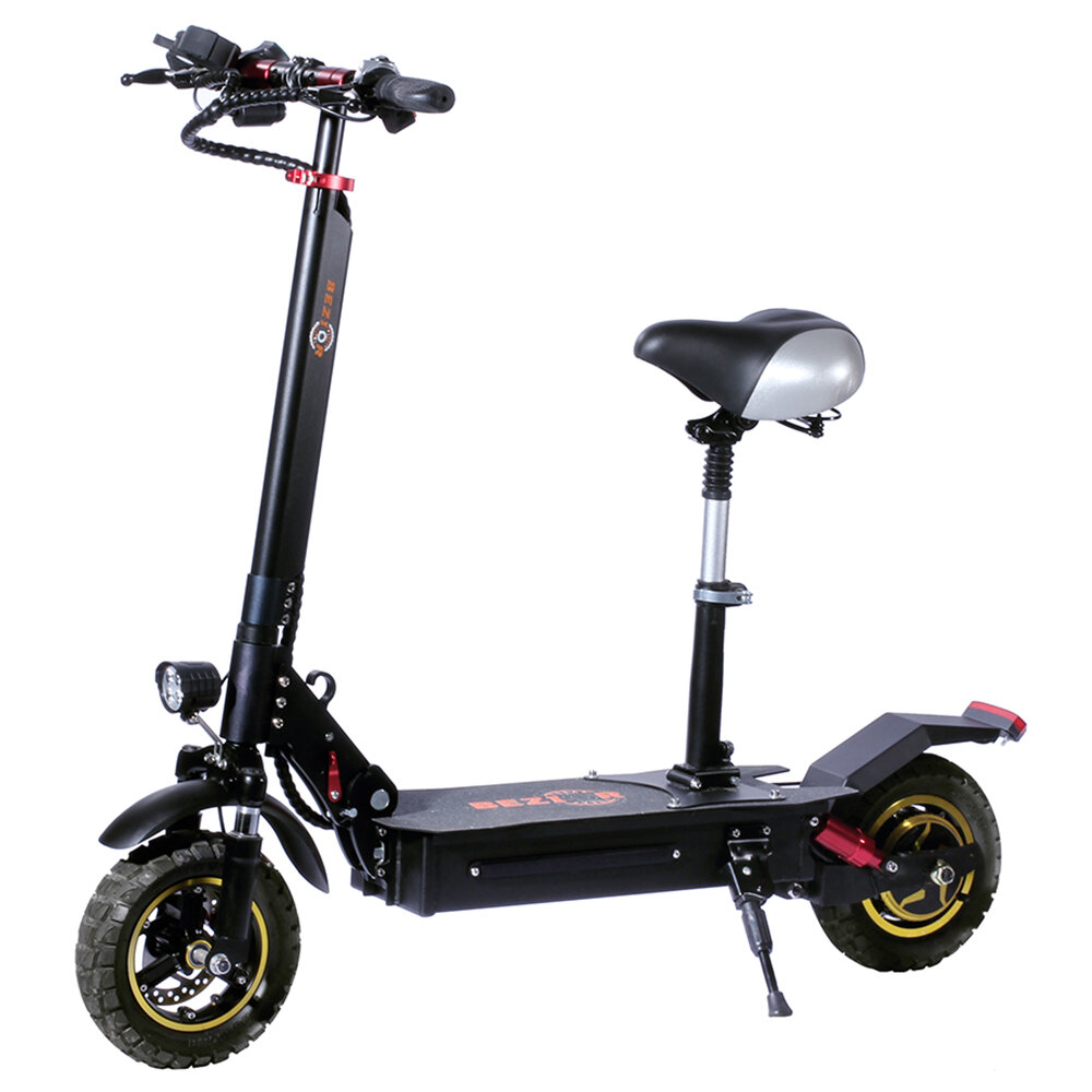 [EU Direct] Bezior S1 13Ah 48V 1000W 10 Inches Folding Moped Electric Scooter 45km/h Top Speed 40-60KM Mileage Range Electric Scooter E-Scooter