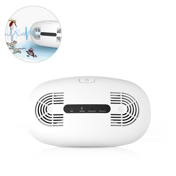 220V Ultrasonic Pest Dispeller Repeller Control Electronic Fly Rat Mosquito Rodent Insect Bug Killer