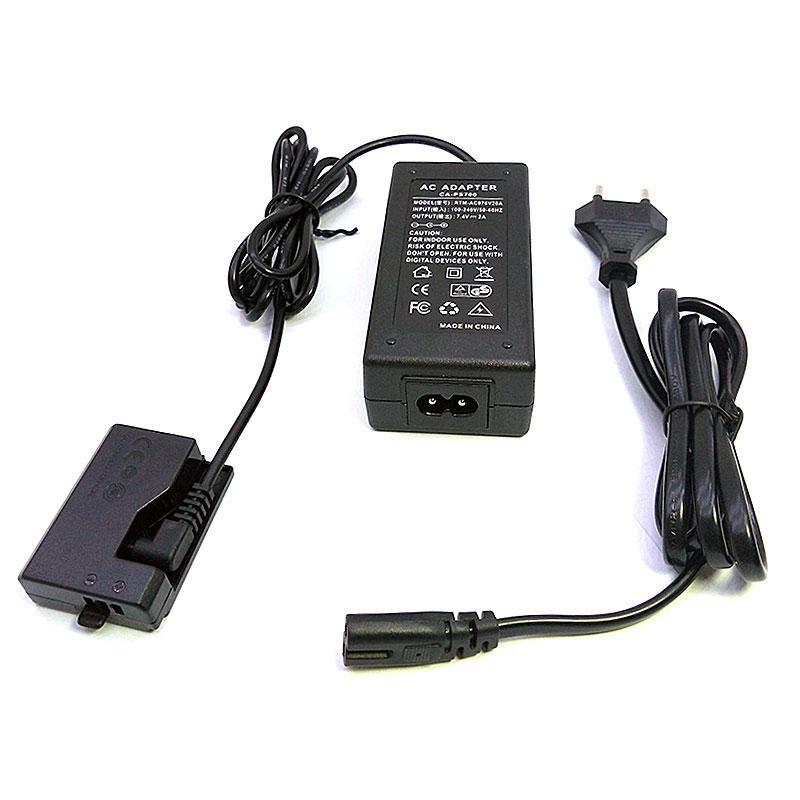 Adaptador de alimentação externa ACK-E10 para Canon DSLR câmeras EOS 1100D 1200D 1300D 1500D 3000D beijo X50 Rebelde T3 T5 T6
