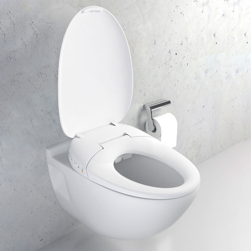 Fantastic Whale Spout Washing Intelligent Temperature App Smart Toilet Cover Seat With Led Night Light From Xiaomi Youpin Beatyapartments Chair Design Images Beatyapartmentscom