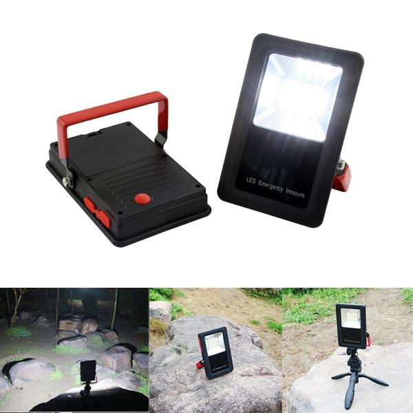 ポータブル10W LED作業洪水ライトUSB充電式屋外キャンプ防水緊急ランプ