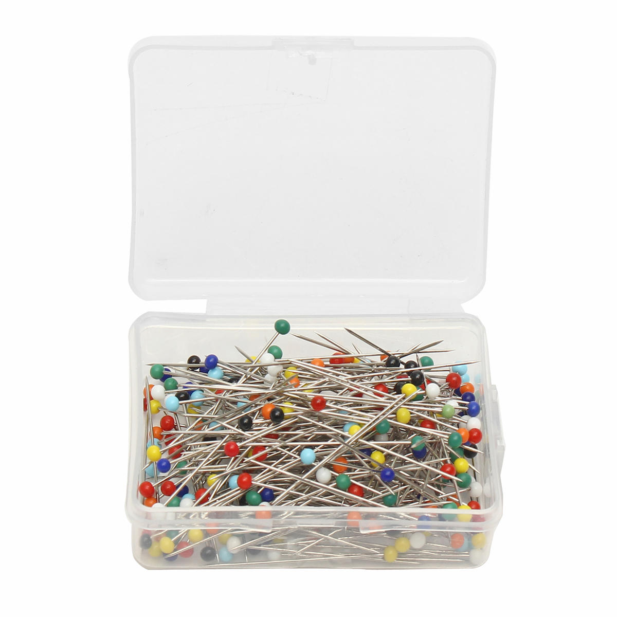 250pcs glass pearlized head pins multicolor ball sewing pins for diy crafts jewelry dressmaking